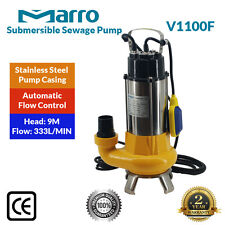 Marro Stainless Steel casing Submersible Sewage Pump V1100F