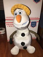 Disney Movie Frozen Olaf Snowman Plush Toy Sing and Swing Talks Dances Sing (KZ)