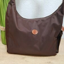 Longchamp Hobo Bag Wickeltasche crossbody Umhängetasche Tasche Farbe braun