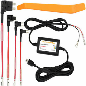 Car Hard Wire Kit DVR Box For Recorder Dash Cam Camera GPS Nextbase Mini USB @UK
