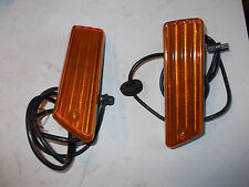 2 X FRECCIA LATERALE DX SX MERCEDES 190 W201 1983 HELLA LATERALS TURN LIGHTS