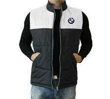 BMW VEST Mens Embroidered logo Jacket Slothing Auto Car Gift Apparel