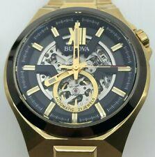 Bulova Classic Automatic Black Dial Men's Watch 98A178