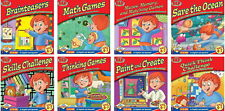 9 Cd Early Learning Fun Software Bundle for Kids 4-7 English & Spanish New