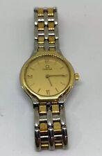Omega Deville Quartz 18k Gold Two Tone Watch