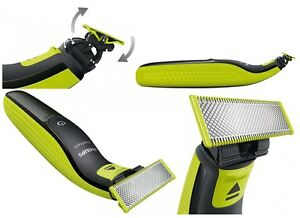 PHILIPS One Blade QP2520/20 Elektro Rasierer 3 Aufsätze abwaschbar Bartschneider
