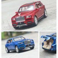 1/24 Rolls Royce Cullinan Alloy Diecast Car SUV Model Sound Light Toy 3 color