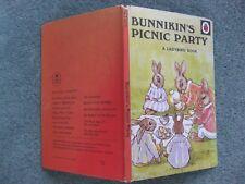 'Bunnikin's Picnic Party' Vintage Ladybird book series 401 60p NET Matt