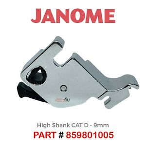 JANOME Foot Holder High Shank For Clip On Snap On Feet Adaptor - Cat D 859801005