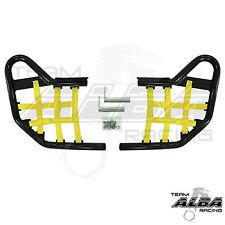 LTR 450 LTR450 Suzuki  Nerf Bars  Alba Racing  Black bar  Yellow nets  195 T1 BY
