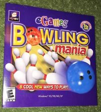 Bowling Mania (PC, 2001) Software - Computer Game