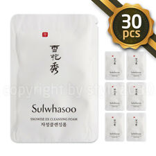 [Sulwhasoo] Snowise Brightening Cleansing Foam 5ml x 30pcs (150ml) Amore Pacific
