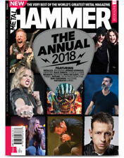 METAL HAMMER MAGAZINE - THE ANNUAL 2018 METALLICA / IRON MAIDEN / BLACK SABBATH