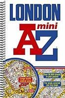 London Mini Street Atlas Spiral Geographers' A-Z Map Company