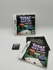Texas Hold 'em Poker Pack Nintendo DS PAL Game