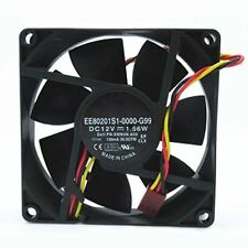 Cooler Fan DELL 390 DT P/N XMN4N EE80201S1-0000-G99 DC12V 1.56W 8020 3-Wire