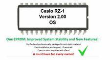 Casio RZ-1 - Custom Firmware 2.00 OS Update Upgrade (+ free IC Socket holder)