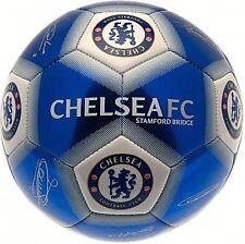 Chelsea Fc Adult Size 5 Season 2019 Ball Signature Blue Football Euro16 Cfc Gift