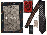 GUCCI Tie Man 100% Silk Made In Italy  145 € for less here!  GG01 D-0