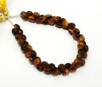 """Details about  /Natural Gemstone Carnelian Faceted 7MM Approx Onion Shape Briolette Beads 8.5/"""""""
