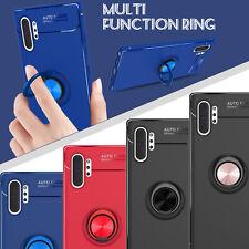 Funda para Samsung Galaxy Note 10+ Pro armadura TPU Cubierta Plus Con Soporte Soporte Anillo