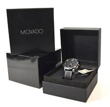 MOVADO Museum Sport Motion Black 44mm Bluetooth Smartwatch 0660003