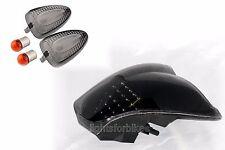 Intermitentes negra delante atrás y LED-luz trasera bmw k 1200 R también Sport