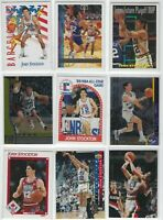 (98)ct JOHN STOCKTON NBA BASKETBALL CARD LOT! UTAH JAZZ!!