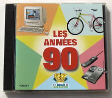 LES ANNEES 90 . Volume 1 . J.HALLYAY, SCORPIONS, TEARS FOR FEARS, POW WOW. CD