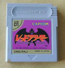 GARGOYLE'S QUEST GAME BOY GB JAPAN MAKAIMURA GAIDEN NINTENDO CAPCOM