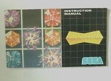 47044 Instruction Booklet - Columns - Sega Mega Drive (1990)