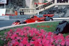 Carlos Pace Martini Brabham BT45 Monaco Grand Prix 1976 Photograph 2