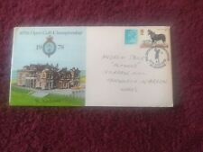 107th Open Golf Championship St. Andrews Fife commemorative FDC. 12/07/1978