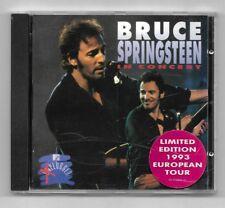 CD / BRUCE SPRINGSTEEN - IN CONCERT MTV UNPLUGGED / 13 TITRES ALBUM 1992