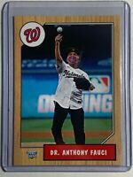 2020 Dr. Anthony Fauci Pro Gem Custom Baseball Card - In hand, ready to ship!