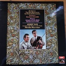 ASD 2725 Beethoven Violin Romances / Schubert Rondo, etc. / Suk / Marriner