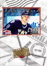 1997-98 Donruss Priority Stamps Bronze #13 Paul Kariya