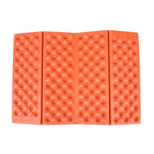 Portabl Outdoor Folding Mat Camping Pad Seat Foam Waterproof Cushion Hiking MGBA Orange