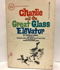 Charlie and the Great Glass Elevator by Roald Dahl 1977 Bantam Paperback