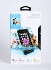 LifeProof Nuud Waterproof Water Dust Proof Hard Case for iPhone 6 Plus Black