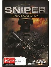 SNIPER - 6 Movie Collection: 1 2 3 / Reloaded / Legacy / Ghost Shooter : NEW DVD