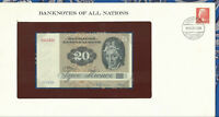 Banknotes of All Nations Denmark 20 Kroner P-49a.2 1972 (1979) UNC A2793H