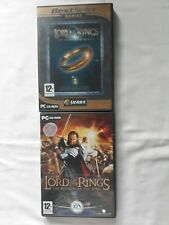 Lord Of The Rings The Fellowship of The Ring & Lotr The Return of the king ...