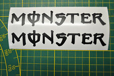 STICKER Monster 2x 24x132mm  TUNING yamaha ROSSI