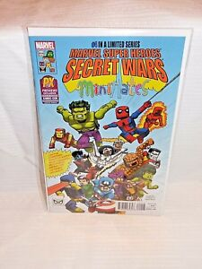 SDCC COMIC CON 2015 MARVEL SUPER HEROES SECRET WARS MINI MATES #4 EXCLUSIVE
