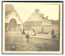 France, Crisenoy, Baptême de Madeleine Courcier  Vintage silver print Tirage