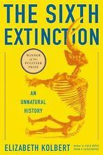 The Sixth Extinction: An Unnatural History, Kolbert, Elizabeth, Acceptable Book