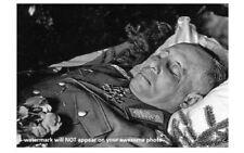 Erwin Rommel Funeral Death Photo World War Ii German Military Field Marshal