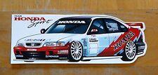 Team Honda Sport Accord Thompson / Tarquini BTCC Race Motorsport Sticker / Decal