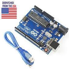 US UNO R3 MEGA328P ATmega16U2 Development Board + USB Cable SGHS For Arduino